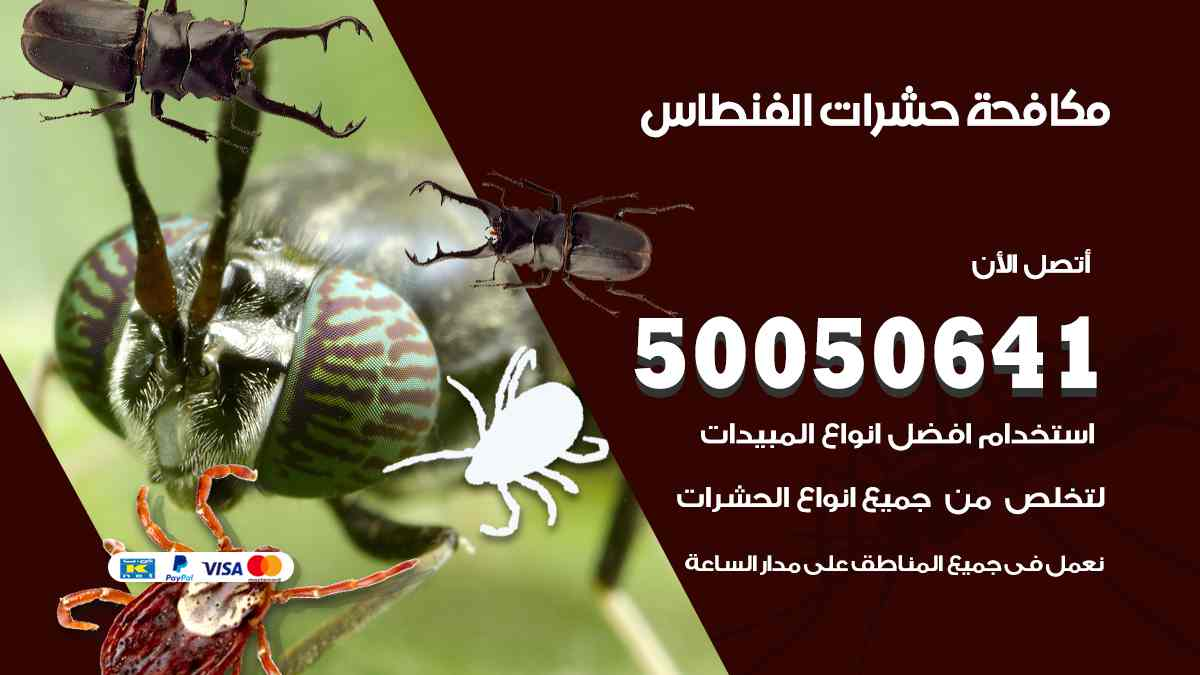 مكافحة حشرات الفنطاس