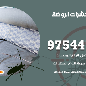 رقم مكافحة حشرات وقوارض الروضة