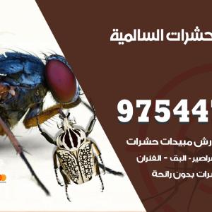 رقم مكافحة حشرات وقوارض السالمية